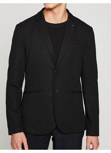 Koton Blazer Ceket Siyah